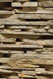 Tuiles de fin de grès  vertical photographie stock