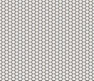 Tuiles de forme d'hexagone Photographie stock