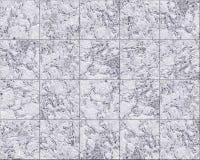 Tuiles de marbre illustration de vecteur