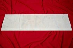 Tuiles de marbre blanches de fenêtre de Ruschita Photographie stock
