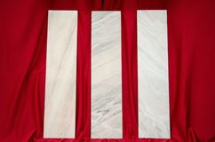 Tuiles de marbre blanches de jambage de fenêtre de Ruschita Image stock