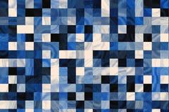 Tuiles de marbre bleues illustration libre de droits