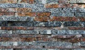 Tuiles de marbre décoratives, mosaïque sur un mur Images libres de droits