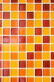 Tuiles de mosaïque colorées Images libres de droits