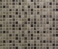Tuiles de mosaïque grises Image stock