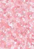 Tuiles de mosaïque roses Photo libre de droits