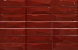 Tuiles de mosaïque rouges Images stock