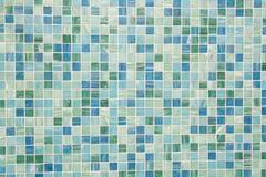 tuiles de mosaque dans le bleu de turquoise vert photographie stock libre de droits - Mosaique Turquoise