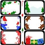Tuiles de Noël Image libre de droits