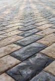 Tuiles de pavage en pierre Photos libres de droits