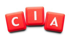 Tuiles de plastique de CIA photos libres de droits