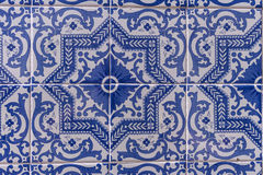 Tuiles de Portugais d'Azulejos Photographie stock