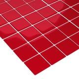 Tuiles de rouge d'étage Photos libres de droits