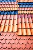 Tuiles de toit Photo stock