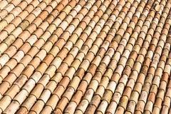 Tuiles de toit antiques photo stock
