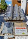 Tuiles de toit de rechange à Chion-dans le temple Photo libre de droits