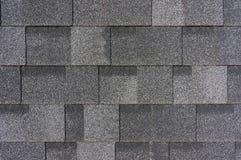 Tuiles de toit grises Images libres de droits