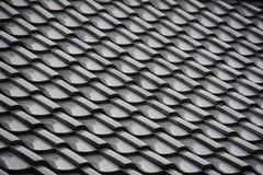Tuiles de toit japonaises de temple Image libre de droits