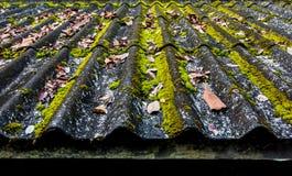Tuiles de toit vieilles Images stock