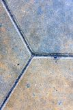 Tuiles du trottoir 3 centrées image stock