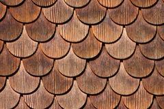 Tuiles en bois Photo libre de droits