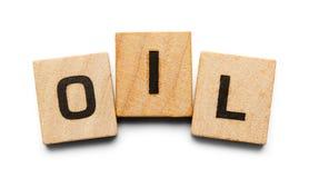Tuiles en bois d'huile Images stock