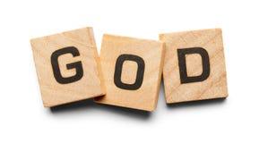 Tuiles en bois de Dieu Photographie stock libre de droits