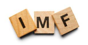 Tuiles en bois de FMI Photo libre de droits