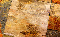 Tuiles en pierre Image stock
