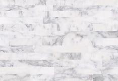 Tuiles en pierre de marbre blanches, fond en pierre de marbre sans couture de texture Photos libres de droits