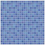 Tuiles en verre bleues et pourprées Images stock