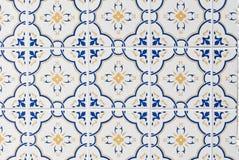 Tuiles glacées portugaises 070 Images libres de droits