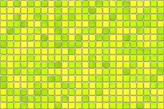 Tuiles jaunes - mosaïque Photographie stock libre de droits