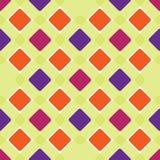 Tuiles multicolores de place Fond sans couture de modèle abstrait Papier peint de tissu sans couture images stock