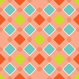 Tuiles multicolores de place Fond sans couture de modèle abstrait Papier peint de tissu sans couture photographie stock libre de droits