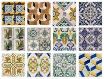 Tuiles portugaises Photographie stock libre de droits