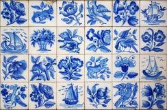Tuiles portugaises Image stock