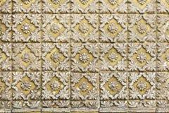 Tuiles portugaises traditionnelles d'azulejo sur le bâtiment à Porto, P Photo libre de droits