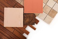 Tuiles pour la décoration intérieure de la maison Photographie stock libre de droits