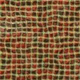 Tuiles rouges et noires de texture photographie stock