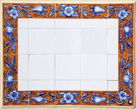 azulejos tuiles portugaises traditionnelles illustration. Black Bedroom Furniture Sets. Home Design Ideas