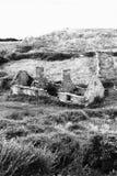 Tuimel onderaan plattelandshuisje in provincie Clare Ireland 2 Stock Fotografie