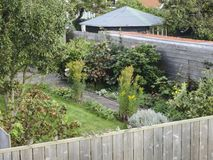 Tuin在弗利兰岛;弗利兰岛的庭院 库存图片
