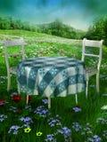 Tuin 1 van de zomer stock illustratie