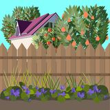 Tuin vector illustratie