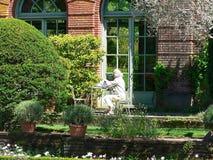 Tuin stock afbeelding