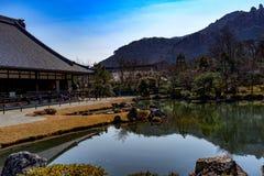 Tuin in Arashiyama royalty-vrije stock foto