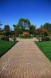 Tuin in de Herfst Stock Afbeelding