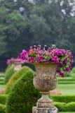 Tuin en Kasteel van Valencay in de Loire-Vallei Royalty-vrije Stock Foto