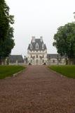 Tuin en Kasteel van Valencay in de Loire-Vallei stock afbeelding
